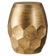 Target honeycomb side table