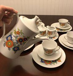 Vintage Tea Set Seltmann Weiden Bavaria by MyTravelingBoutique