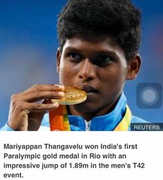 Team motto of Dental Blasters  'Get Up and Never Give Up' has been truly displayed by Marriyapan Thangavelu for winning gold medal in high jump and Deepa Malik for winning silver in shot put in Paralympics Rio 2016.  Team Dental Blasters slaute the sportsmans spirit of these two champions...!! #DentalBlasters  #DentistsCricketTeam