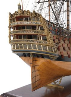 Victory (1737); Warship; First rate; 100 guns - National Maritime Museum Model Sailing Ships, Old Sailing Ships, Model Ship Building, Boat Building, Portsmouth Dockyard, Scale Model Ships, Hms Victory, Ship Of The Line, Wooden Ship