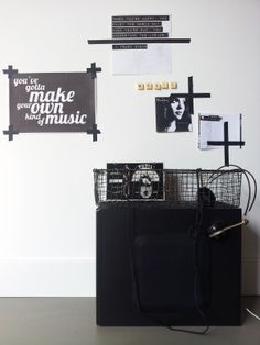 Lisanne van de Klift -- I love the quotes on the wall!