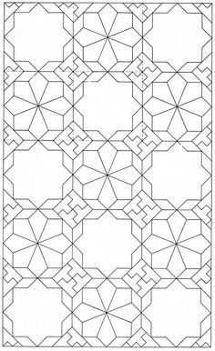 MAH 043 The Design And Execution Of Drawings In Iranian Tilework Mahmood Maher Al Naqsh