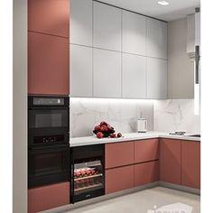 На данном изображении может находиться: в помещении Kitchen Room Design, Kitchen Dinning, Kitchen Cabinet Design, Kitchen Layout, Kitchen Interior, Interior Design Living Room, Modern Kitchen Cabinets, Kitchen Tiles, Kitchen Furniture