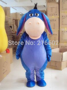 donkey Cartoon Character Costume cosplay mascot Custom Products custom-made(s.m.l.xl.xxl) free shipping #Affiliate