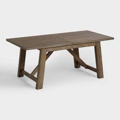 Wood Farmhouse Extension Table - v1