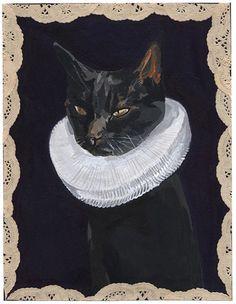 victorian cat by stefanie augustine, via Flickr