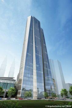 KLCC Lot 91 - The Skyscraper Center #futuristicarchitecture