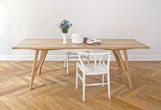 Tavolo rettangolare in legno JL5 Collezione SABETH by LOEHR | design Julian Löhr