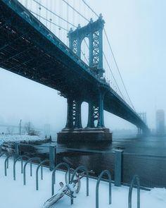 Manhattan Bridge, Brooklyn Bridge, George Washington Bridge, Nyc, Bridges, Travel, Viajes, Destinations, Traveling