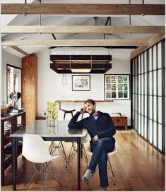 Idee per interni piccoli - Letto a soffitto