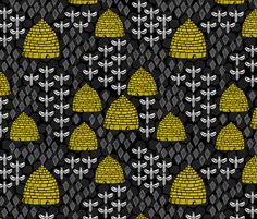 ©  Copyright  Andrea Lauren -  You are permitted to sell items you make with this fabric, but request you credit Andrea Lauren as the designer. Coordinates: Solids, Dots  View the entire Bees Collection