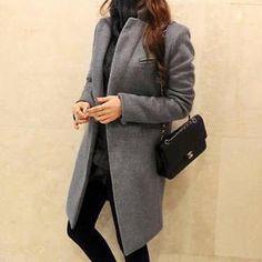 Buy 'Ringnor – Tweed Lapel-Collar Coat'