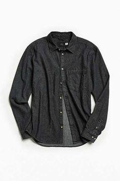 Dark denim shirts