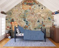 Pirate map - Wall Mural & Photo Wallpaper - Photowall