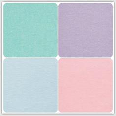 Pastel colors, colour. Purple, pink, turqoise, blue. Pastellfärger. Lila, blå, rosa, turkos.