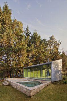 Meditation pavilion by Parque Humano Arquitectos