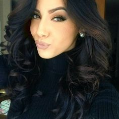 my next hair color i love iiitt <3 <3 not black but somthin close to it