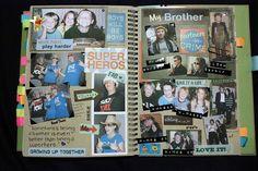 Leah's Blue #SMASH* Folio - My Brother