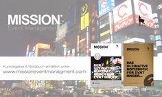 Operatives Event Management - Kurzratgeber und Notizbuch erhältlich unter: www.missioneventmanagement.com