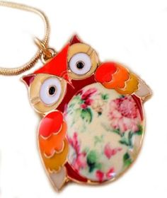 Cute Owl Necklace for Girls & Women