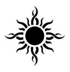 Godsmack Sun Logo by on DeviantArt Red Ink Tattoos, Line Art Tattoos, Sun Tattoos, Tribal Tattoos, Tatoos, Tattoo Sketches, Tattoo Drawings, Sun Tattoo Small, Sun Tattoo Designs