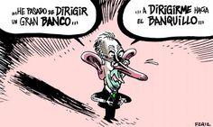 La carrera meteórica de Rato en Bankia #humor #crisis #nosrobanlacartera
