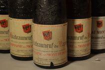 Chateau Mont-Redon 1966, '70, '76, '79, '90 - 5 bottles Chateauneuf-du-Pape, Rhone, France http://auction.catawiki.com/kavels/431455-chateau-mont-redon-1966-70-76-79-90-5-bottles