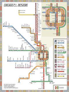 Frank Lloyd Wright Map
