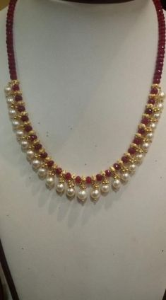 20 Ideas Jewerly Design Necklace Chains For 2019 20 Ideas Jewerly Design Necklace Chains For 2019 Pearl Necklace Designs, Gold Earrings Designs, Pearl Necklaces, Beaded Jewelry Designs, Gold Necklace, Gemstone Necklace, Pearl Jewelry, Jewelry Bracelets, Gold Jewelry Simple