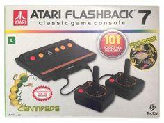 Console Atari Flashback 7 com 2 Joysticks - 101 Jogos Clássicos na Memória Tectoy