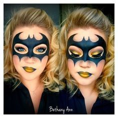 Resultado de imagen para maquillaje artistico de comic