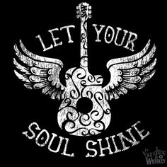 Let Your Soul Shine T-Shirt Graphic Tee by SunshineWhiskeyShirt