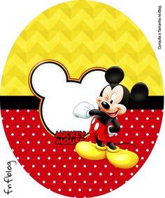 Uau! Veja o que temos para Molde Tubete Oval Mickey