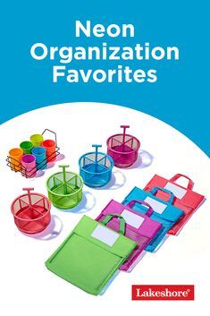 Want to bring out the best of any learning space? Just add a little color! Check out our Back to School Sale for a wide variety of neon organization favorites that will keep your materials and supplies in order and ready to use. #classroomorganization Back To School Sales, The New School, New School Year, Back To School Essentials, Learning Spaces, Classroom Organization, Neon, Check, Color