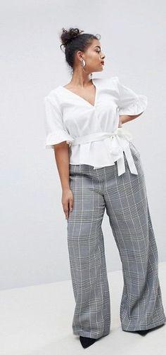 Plus Size Wrap Top - Plus Size Fashion for Women #plussize