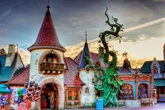 Disneyland Paris  Sir Mickey's and La Ménagerie du Royaume by PeterPanFan, via Flickr