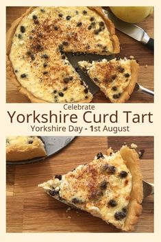 This Yorkshire Curd Tart recipe uses Natural Cottage Cheese as an alternative to using curd made the traditional way with whole creamy milk and lemon juice, Rennet or vinegar. Uk Recipes, Tart Recipes, Other Recipes, Baking Recipes, Pastry Recipes, Yorkshire Recipes, English Dessert Recipes, Just Pies, Milk Tart