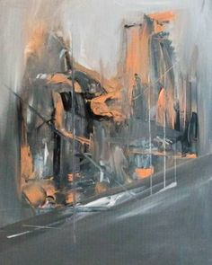 "Saatchi Art Artist Alexandra Elena; Painting, ""Your Downtown"" #art"