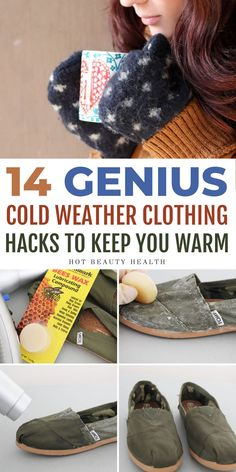 These cold weather clothing hacks will help you stay warm during the fall and winter months. You'll be so glad to come across these awesome life tips! Now you'll have some great ideas for fall and winter clothing! #coldweatherclothing #coldweatherideas #winterclothing #hyggeideas