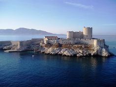 Chateau D'if in Marseille, France. Count of Monte Cristo, anyone?