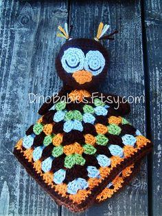 Ravelry: Sleepy Owl Lovie pattern by Alex Fisher