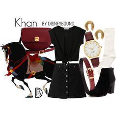 Disney Bound - Khan