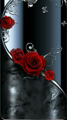 Black Wallpaper by samnsue - 90 - Free on ZEDGE™ now. Browse millions of popular wallpaper Wallpapers and Ringtones on Zedge and personalize your phone to suit you. Browse our content now and free your phone Flower Phone Wallpaper, Heart Wallpaper, Butterfly Wallpaper, Cellphone Wallpaper, Colorful Wallpaper, Black Wallpaper, Wallpaper Backgrounds, Iphone Wallpaper, Beautiful Flowers Wallpapers