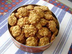 Sušenky z ovesných vloček s medem a skořicí