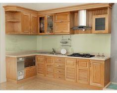 Kitchen Shelf Design, Kitchen Cabinet Door Styles, Kitchen Cupboard Designs, Modern Kitchen Cabinets, Interior Design Kitchen, Kitchen Furniture, Kitchen Decor, Cabnits Kitchen, Deco Studio