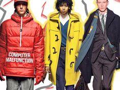 Ανδρική μόδα χειμώνας 2019: Δείτε πρώτοι τα πιο stylish outfits Fashion Beauty, Rain Jacket, Windbreaker, Trends, Jackets, Down Jackets, Anorak Jacket, Jacket, Beauty Trends