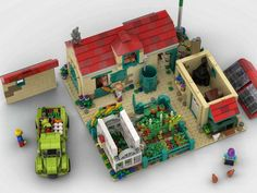 LEGO IDEAS - A Nice Day at the Farm Lego Moc, Lego Ideas, Nintendo Consoles, Nerf, Toys, Projects, Activity Toys, Log Projects, Blue Prints