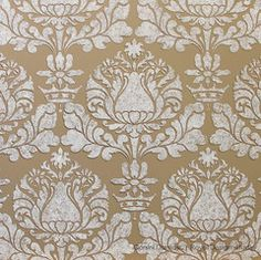 Corsini Damask Allover Wall Stencil by Royal Design Studio