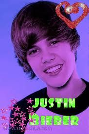 the awesome guy justin bieber but just promise me never say never!