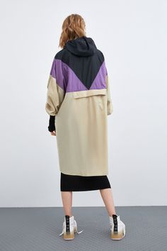 PACKABLE BLOCK COLOR RAINCOAT-View All-COATS-WOMAN | ZARA United States